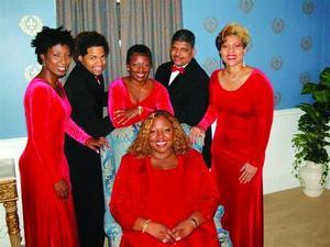 the triumphant delegation gospel singers