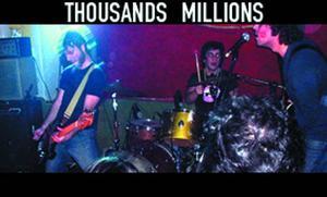 thousands millions