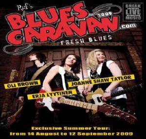 blues caravan 2009