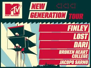 mtv new generation tour