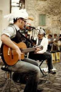 la compagnia bucolica - musica in strada...