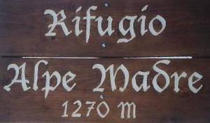 Rifugio Alpe Madre