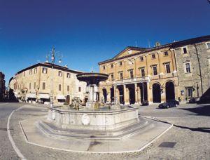Piazza Enrico Mattei di Matelica