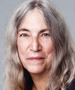 PATTI SMITH icona del rock vivente